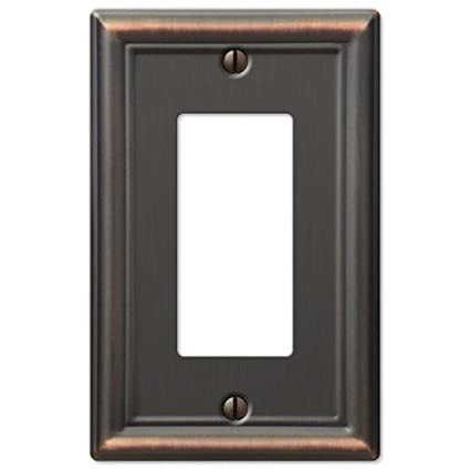 Decorative Wall Switch Outlet Cover Plates (Oil Rubbed Bronze ...