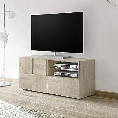 Kasalinea Domos 3 - Mueble para televisor contemporáneo, Color Roble: Amazon.es: Hogar
