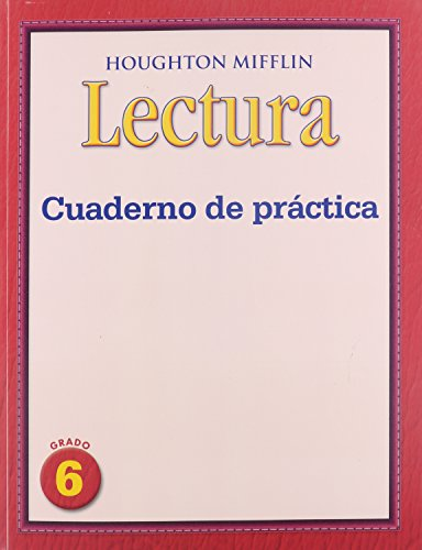 Houghton Mifflin Medallions Spanish: Practice Book Consumable Level 6 (Spanish Edition)