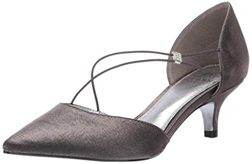 Adrianna Papell Women's LACY Pump, Gunmetal, 8 M US