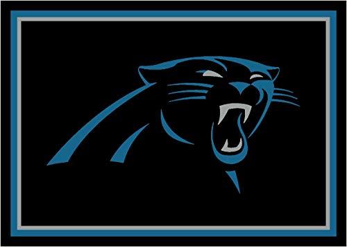 Carolina Panthers NFL Team Spirit Area Rug by Milliken, 5'4