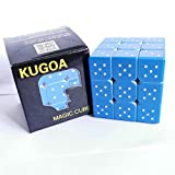 Speed Cube 3x3x3 3D Relief Effect Braille Magic