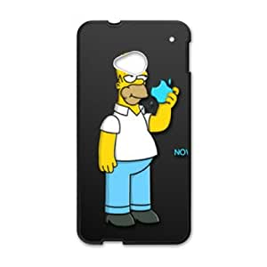 HTC One M7 Cell Phone Case Black Homer Simpson's W9873579