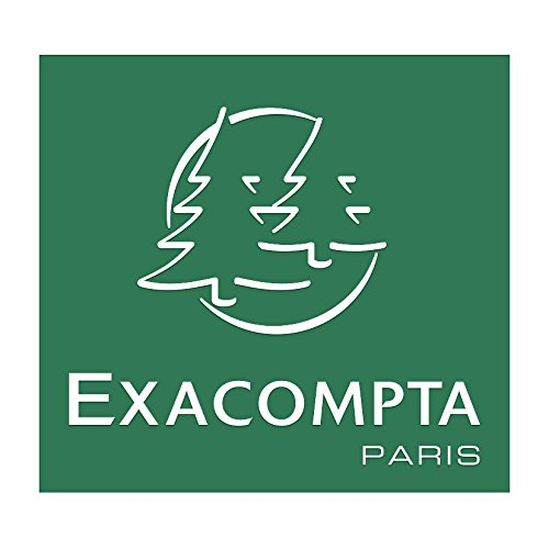 33 x 25 x 7 cm Exacompta 90157E Portariviste Bianco
