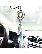 Auto veer hangende toebehoren for auto-interieurs achteruitkijkspiegel hangende decoratie for familie slaapkamer auto decoratie dromenvanger