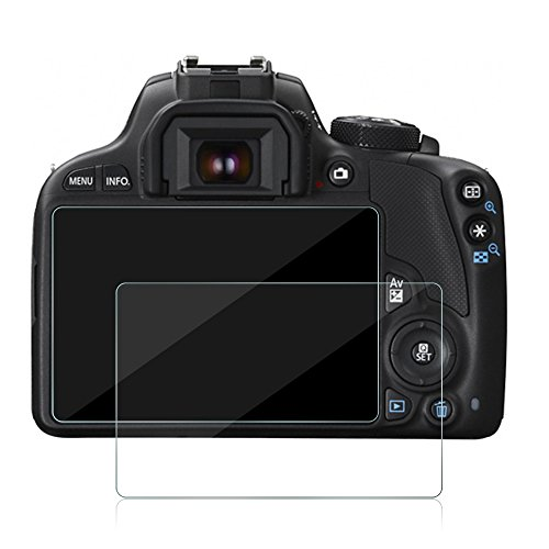 Awinner Glass for Canon EOS M3 M5 M10 100D G1 X Mark II, Camera Screen Protector Anti-scratch Tempered Glas - Sl1 Protector Screen Rebel Canon