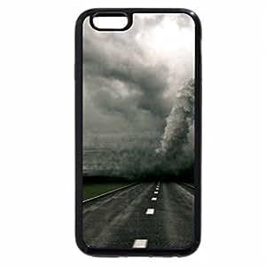 iPhone 6S / iPhone 6 Case (Black) tornado crossing the highway