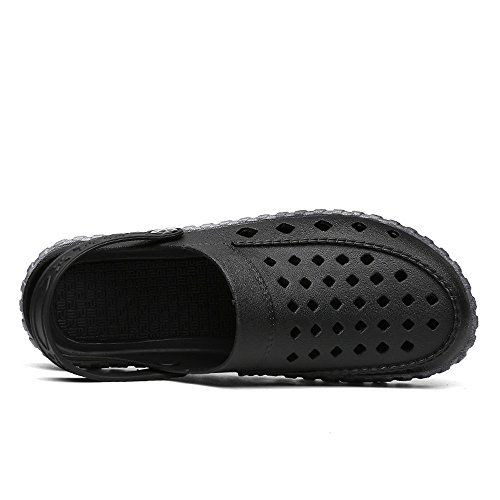 Geetobby Unisex Casual Handmade Loafer Shoes Breathable Hole Slip On Moccasins