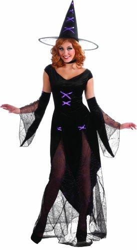 Madonna Fancy Dress Costumes To (Rubie's Costume Halloween Sensations Madonna Of Salem Costume, Black, Standard)