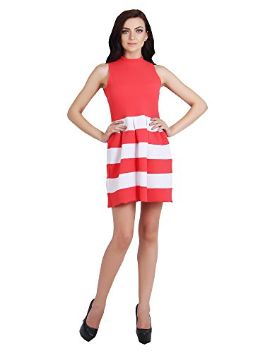 G   M Collections Women's A line Pink Dress