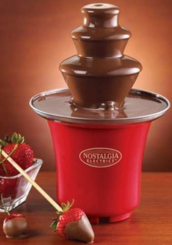 Retro Seris 50's Style Chocolate Fondue Fountain.