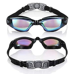 SRXES Swimming Goggles for Men, Swimming Gogg...