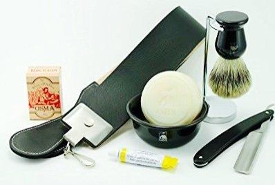 Straight Razor Classical Ultimate 7 Pcs Shaving Set