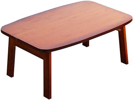 Pliant Petite Table Basse Rectangle En Bois De Bambou Table Baie