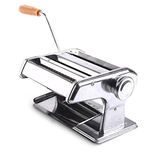 "Super buy 150mm 6"" Pasta Maker & Roller Machine Noodle Spaghetti&Fettuccine Maker Health"