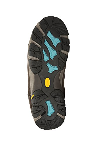 Mountain Warehouse Field Vibram Womens Boots - Ladies Summer Shoes Brown hFG08KyD