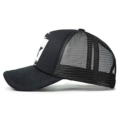 野球帽女性屋外野球帽通気性の男性の女性サマーメッシュキャップ野球帽キャップ,D1