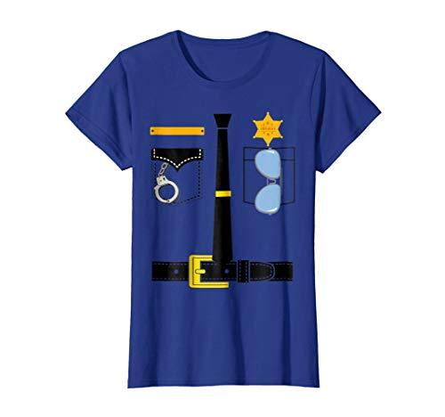 faab8286 halloween wanted tee shirts. Womens Police Uniform Costume Halloween Kids T- Shirt Small Royal Blue