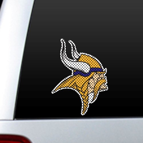 NFL Minnesota Vikings Die Cut Window Film