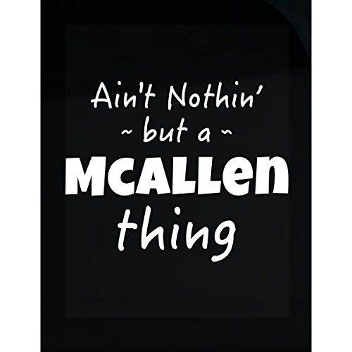 Mcallen Thing Hometown Pride Design - Sticker (Mcallen Home Goods)