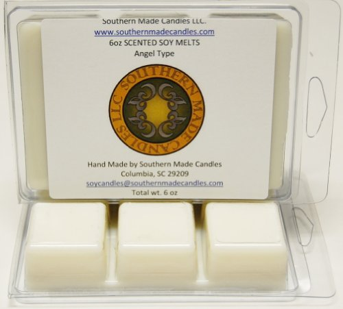 2 Pack 6 oz Scented Soy Wax Candle Melts Tarts - Angel Type ()