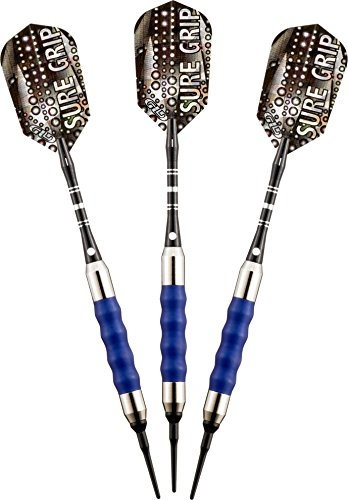 Viper Sure Grip Soft Tip Darts, Blue, 16 Grams (Tip Plastic)