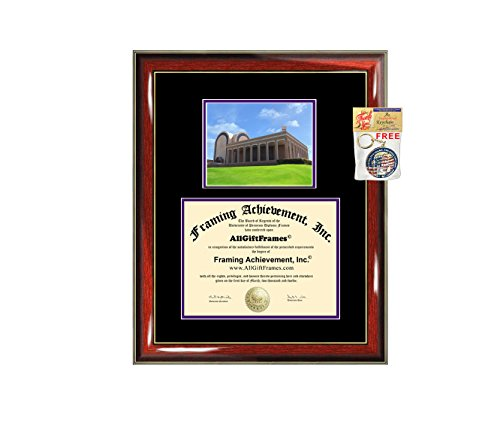 Abilene Christian University Diploma Frame ACU Graduation Degree Frame - Matted Campus College Photo Graduation Certificate Plaque Double Matting Framing Graduate Gift Document Case Holder by Framing Achievement Inc University Diploma Frame