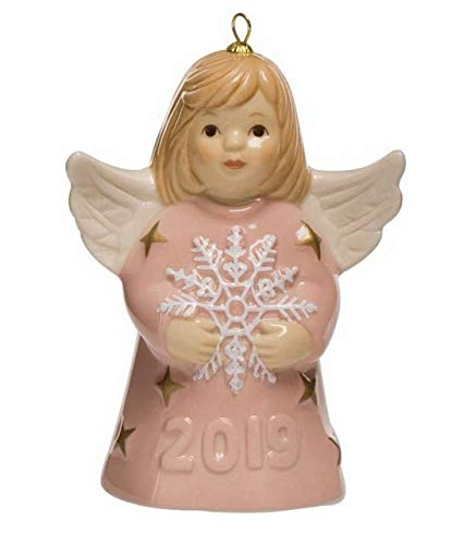 2019 Goebel Annual Angel Bell - ROSE - 44th Edition - New