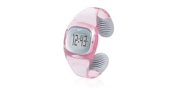 Nike Reloj analogico para Mujer de Cuarzo con Correa en plástico WT0009602: Amazon.es: Relojes