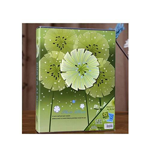 (Yougou01 Album, Traditional Photo Album, Children's Commemorative Boxed Record Album,Blue, Lily Exquisite (Edition : 6))