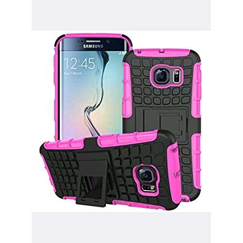 Galaxy S7 dual layer armor case with kickstand (pink) Sales