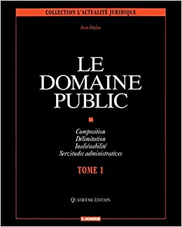 Book Le domaine public : Volume 1