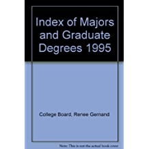 Index of Majors and Graduate Degrees 1995