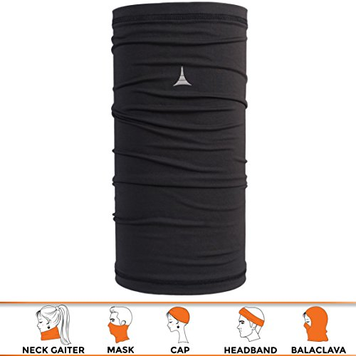 12-in-1 Headwear / Versatile Outdoors & Daily Headwear / 12 Ways to Wear including Headband, Neck Gaiter, Bandana, Helmet Liner, Balaclava. Performance Moisture Wicking. Lab Tested UPF - Shape Face Men Your Find