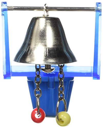 JW Pet Company Activitoys Bell with Pendulot Bird Toy 3' Bird Cage Pull