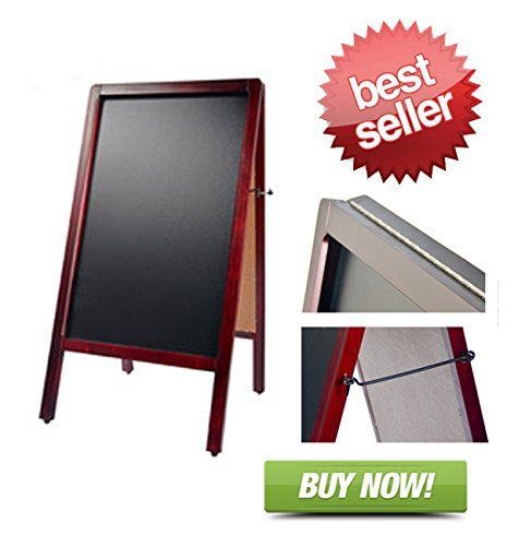 Signworld Sidewalk Sandwich Menu Board - Double Sided A Frame ()