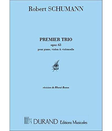 (Trio N 1 Op 63 Vl/Vlc/Pno Musique d'Ensemble)