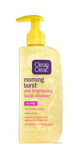 - Clean & Clear Morning Burst Skin Brightening Cleanser, 8 Ounce