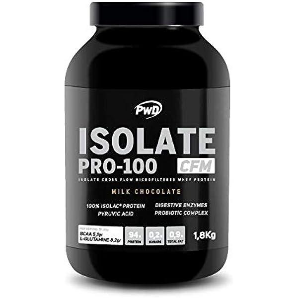 Isolate Pro-100 1,8Kg. (Milk Chocolate): Amazon.es: Salud y ...