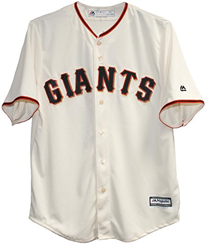Majestic San Francisco Giants Cool Base Home Jersey (Cubs Adult Home Jersey)