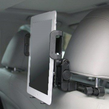 TabGRAB Universal Auto Headrest Mount for Tablets convenient device mount for holding tablets to provide safe and secure access to back seat passengers by TABGRAB (Image #1)