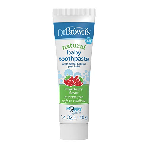 41 RhQza1hL - Dr. Brown's Infant-to-Toddler Toothbrush,