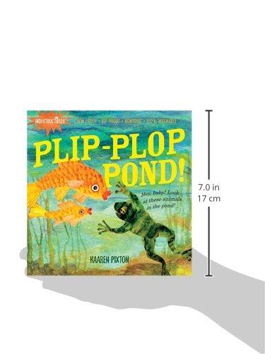 Indestructibles: Plip-Plop Pond!: Amazon co uk: Kaaren