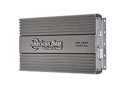 American Bass HD2500 2500 Watt Mono Block Car Stereo Amplifier