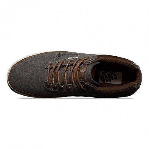 Vans Bedford Timber Charcoal Antique Skate Shoe 7 D (m) Us