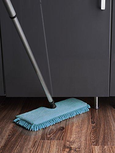 Fuller Mop Microfiber Flip Mop Double Sided Dry Dust or Wet Mop Wood Floors, Tile, Laminate, Vinyl, Linoleum w/ Adjustable Handle