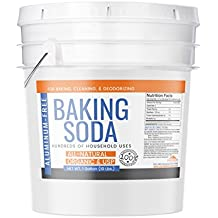 Earthborn Elements Baking Soda, All-Natural, Organic, USP, Antacid, Cooking & Baking, Cleaning & Deodorizing, 1 Gallon Bucket (10 lbs)
