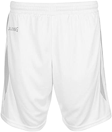 Mujer Spalding 4her III Shorts Pantal/ón Corto de Entrenamiento de Baloncesto