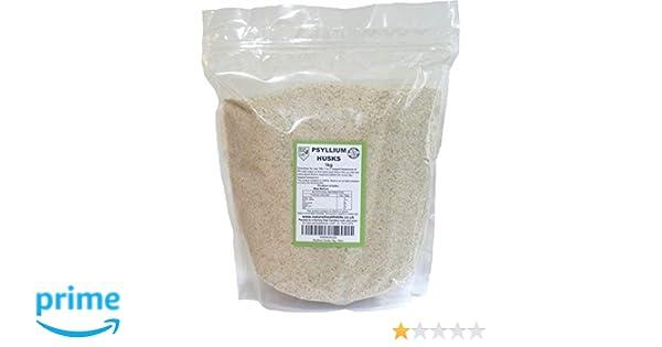 Psyllium Husks 1kg by Natural Health 4 Life: Amazon.es: Salud y cuidado personal
