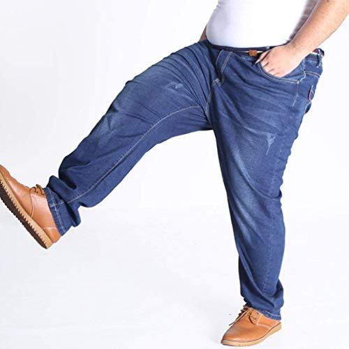 Saoye Larghi A Da Alta Vintage Blau Giovane Casual Fashion In T Jeans E Vita Denim Uomo Pantaloni rnxOrwTg